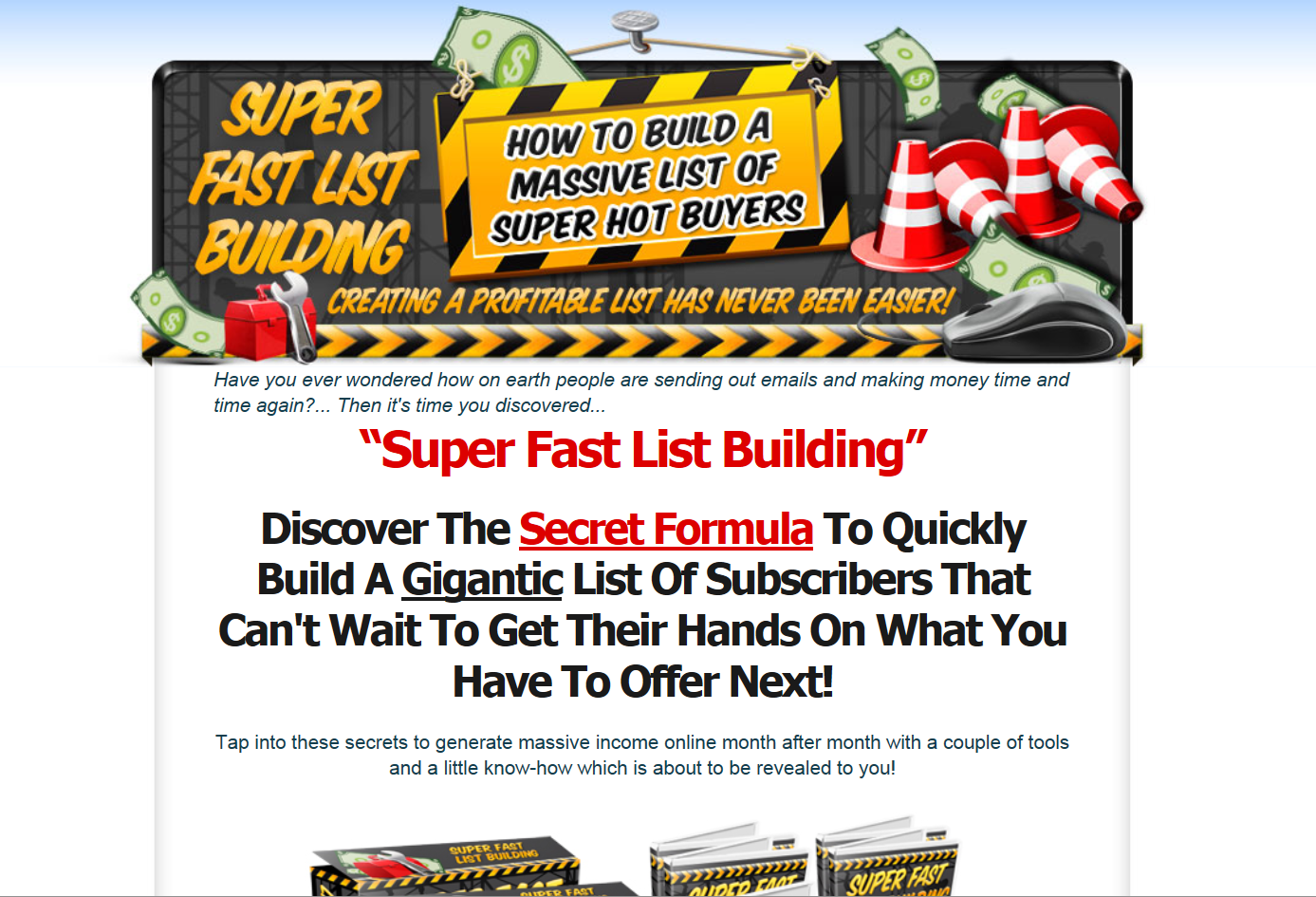 Super Fast List Building