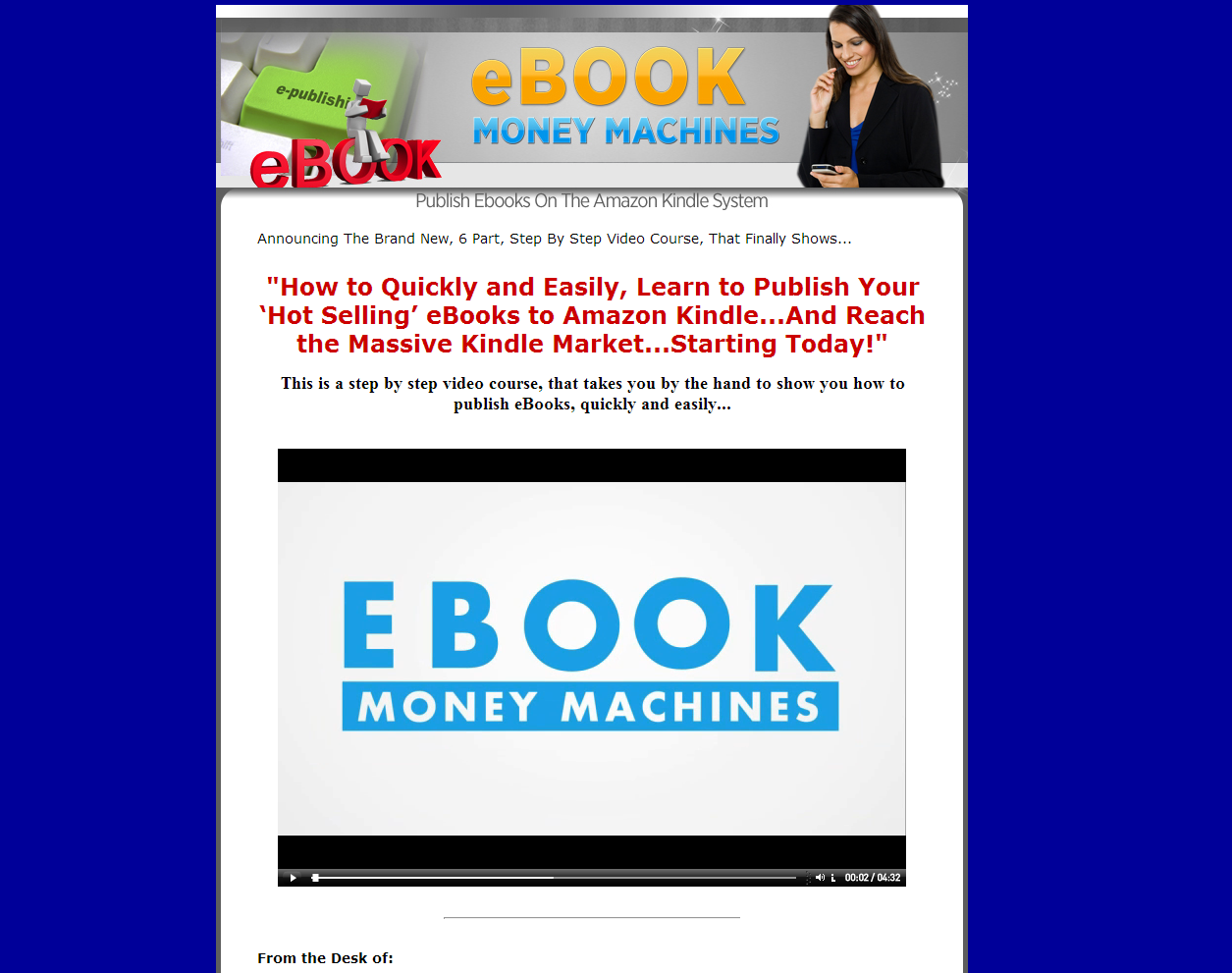 Kindle eBook Money Machines