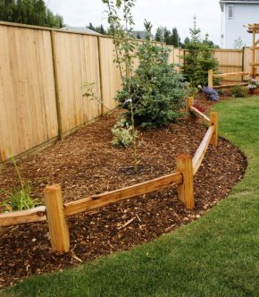 1-Rail Fence with 4' Rails
