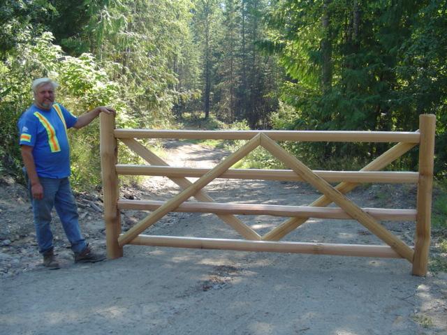 4-Rail Gate - 10'