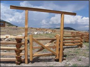 3-Rail Gate - 4'
