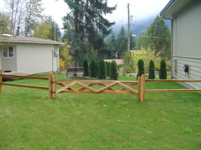 2 Rail Gate - 10 inch