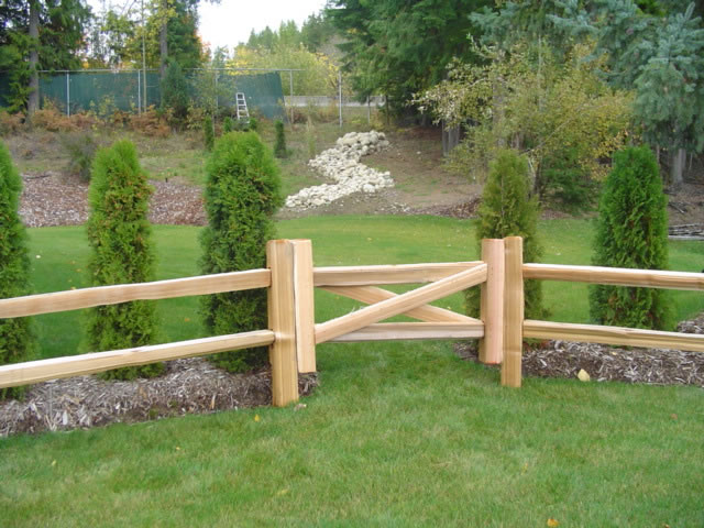 2 Rail Gate - 4 inch