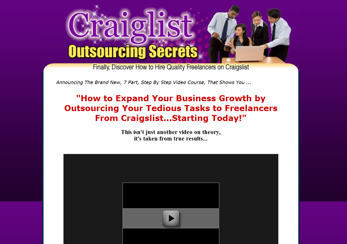 Craigslist Outsourcing Secrets