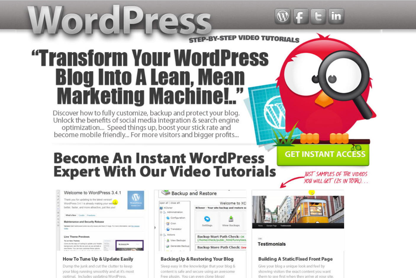 WordPress Video Training Vol 2