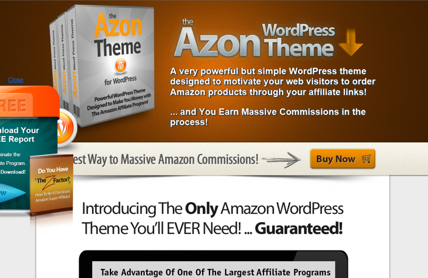 Wordpress Azon Theme