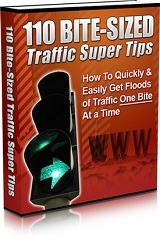 110 Bite Sized Traffic Super Tips
