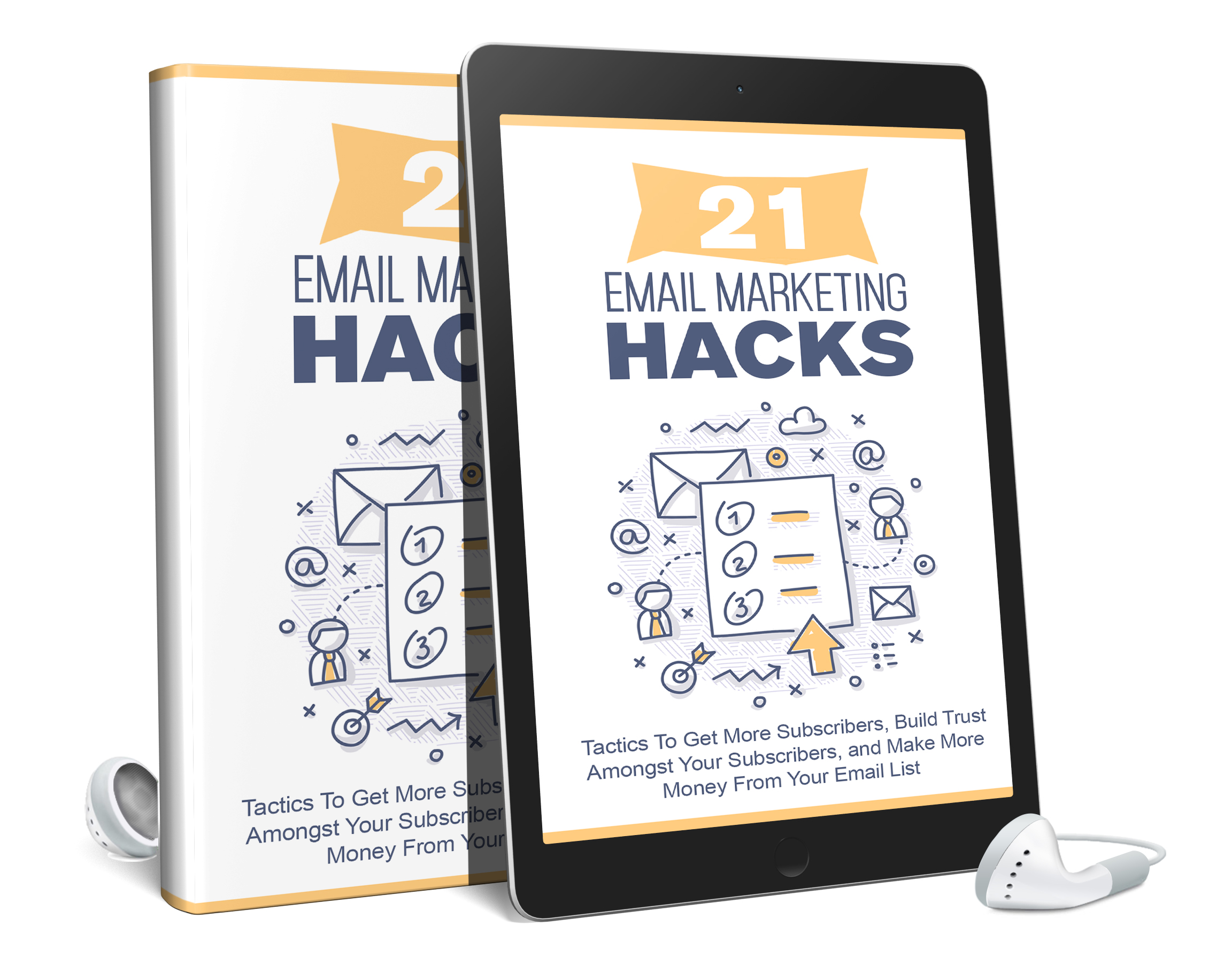 21 Email Marketing Hacks AudioBook and Ebook