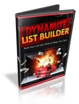 Dynamite List Builder