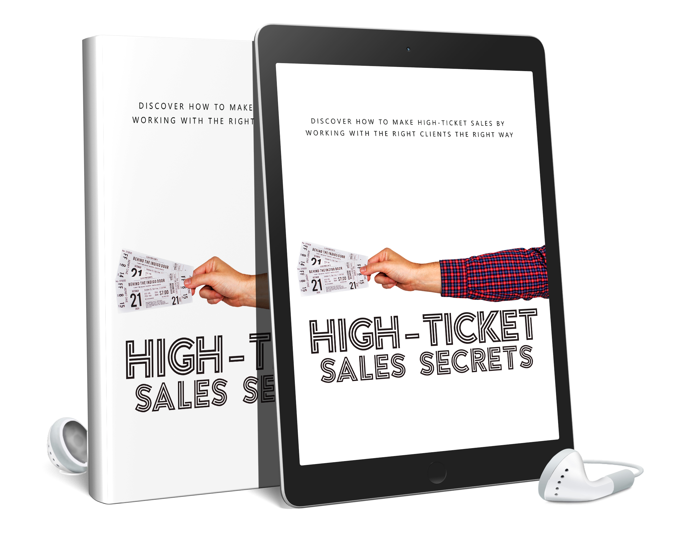 High Ticket Sales Secrets AudioBook and Ebook