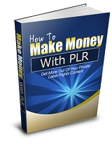 How To Use PLR To Make Money