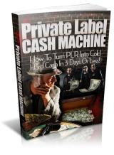 Private Label Cash Machine
