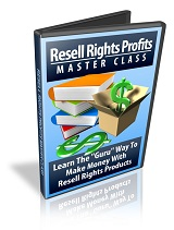 Resell Rights Profits Class