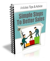 Simple Steps To Better Sales