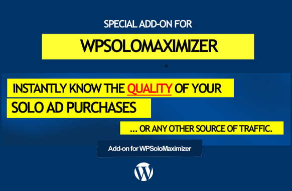 WP Solo Maximizer Add-On Plugin