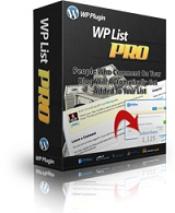 Wordpress List Pro