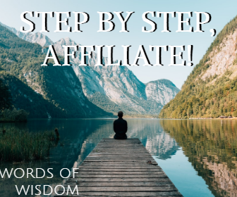 Step By Step AFFILIATE!